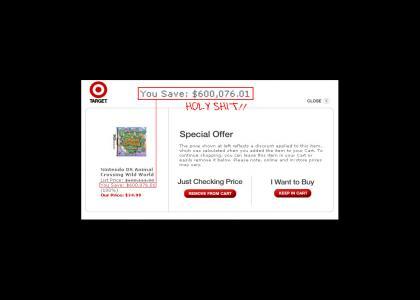 Target saves you money!!
