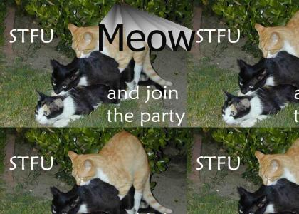 Shut up and join the party!