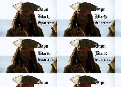 Capn Black Sparra!
