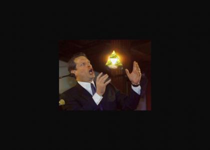 Al Gore has the Triforce!