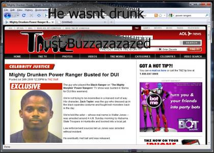 Black Ranger Gets a DUI IN REAL LIFE!!!!