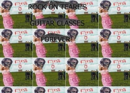 ROCK ON TEARES CLASS