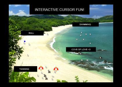 Interactive Cursor Paradise!