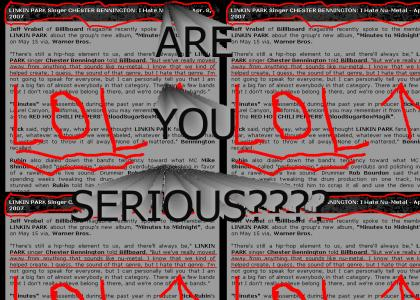 Linkin Park is in Serious Denial