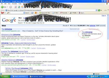 Why buy 1,000,000 things on eBay...