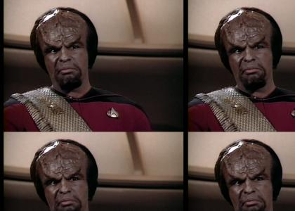 Why Worf Doesn't Swim