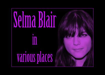 Selma Blair in various places