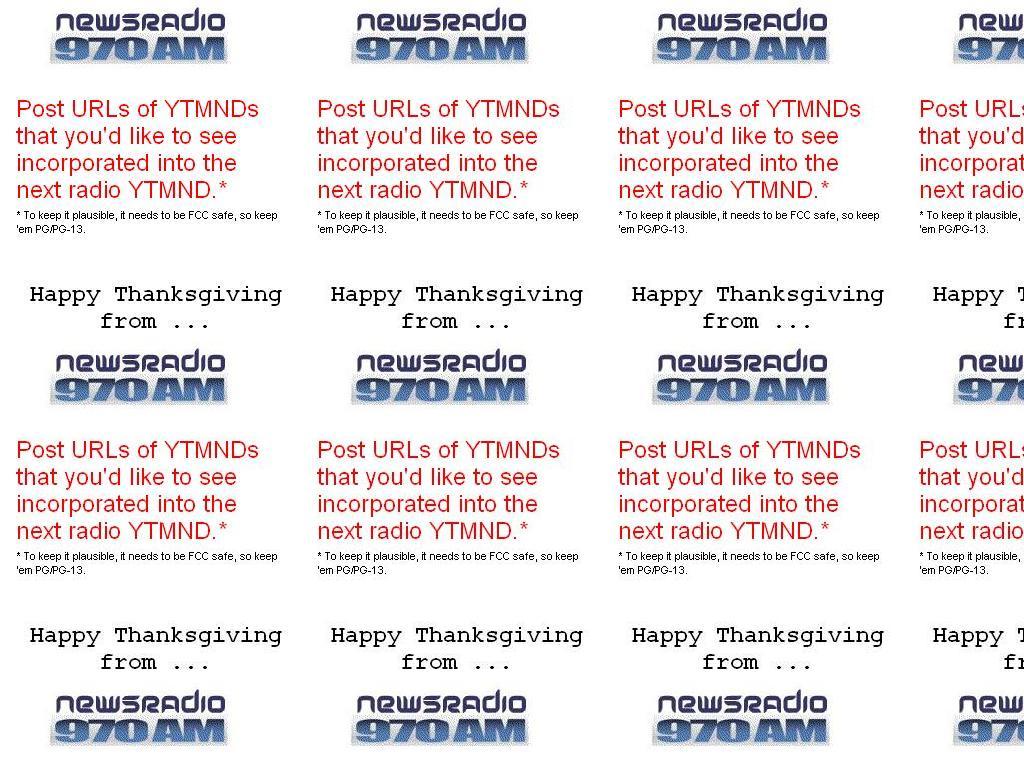 newsradiothanksgiving