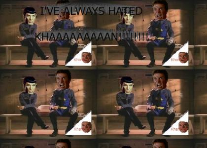 KHANTMND: Captain Kirk reveals a Secret!
