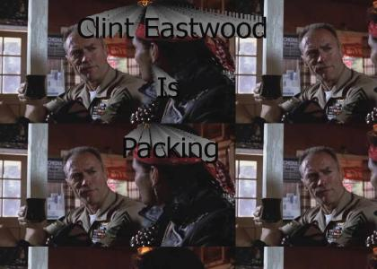 Clint is Packing!