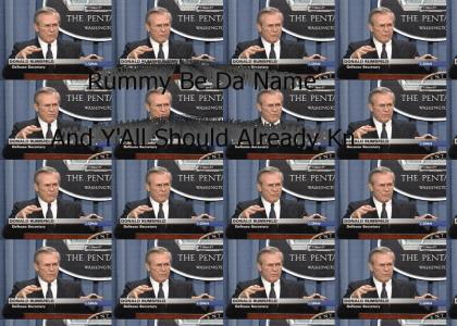 Donald Rumsfeld vs. Missy Elliott