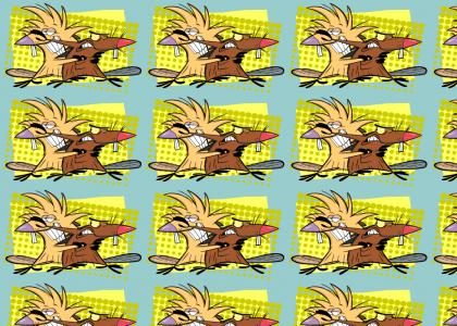 Rerun Angry Beavers bash Nickelodeon