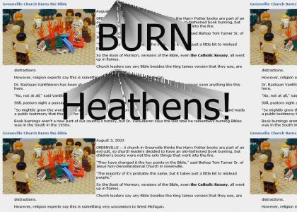 Bad Bible Burning Belt