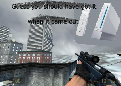 I guess GMAN didnt buy a Wii