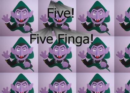 Five! Five Finga!