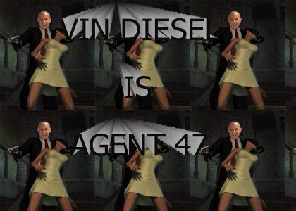 Vin Diesel is Hitman