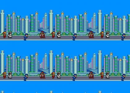 Megaman Breakdances!