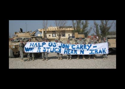Troops in Iraq Message for John Kerry