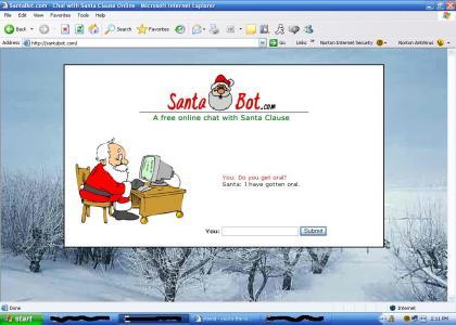Santa's had oral