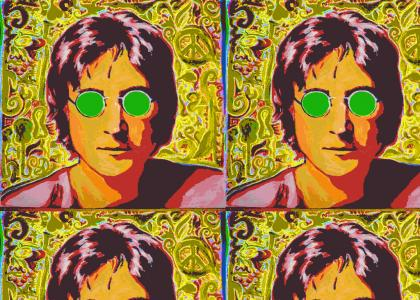 John Lennon Stares Into Your Soul (And trips your balls off)