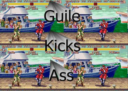 Guile vs. M, Bison