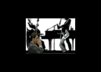 Jim Carrey Jams with Miles Davis