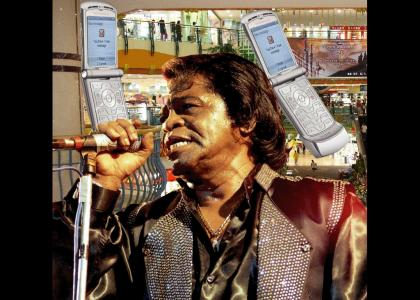James Brown Gets a Text Message From His Ex