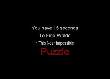 Hardest Waldo Puzzle EVER!