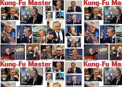 Kung Fu Rumsfeld