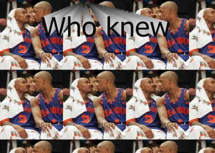 Knicks Marbury and Francis are in Love