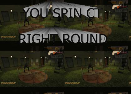 Spin CT right round