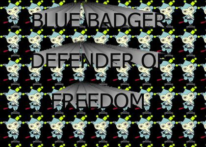 Fear the Blue Badger!