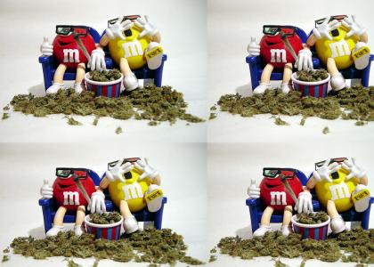 M&M's are for stoners