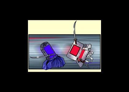 PSP vs DS:  The Burning Duel