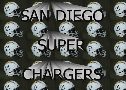 San Diego Super Chargers (old school stylee)