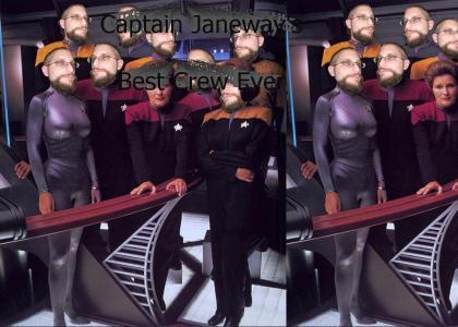 Captain Janeway's Best Crew Ever