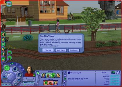 Sims 2 Dream Job