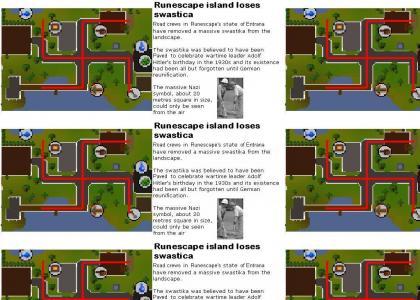 Secret Nazi road in Runescape!