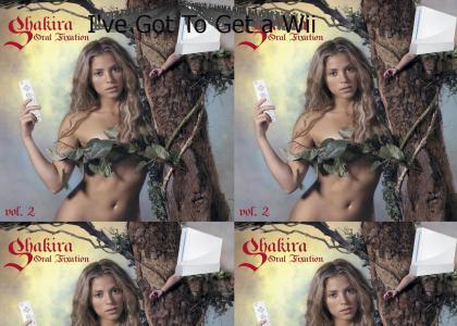 Shakira Wants a Wii