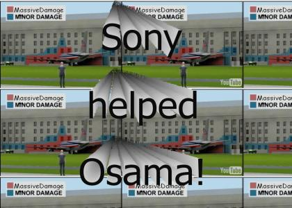Sony helped Osama Plan 9/11!