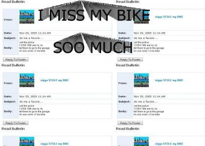 emo stole my bike