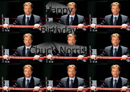 Chuck Norris is Now 66!