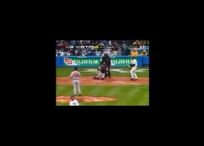 Epic Baseball Maneuver