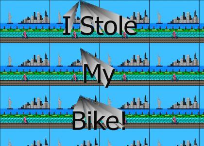 I Stole My Own Bike!