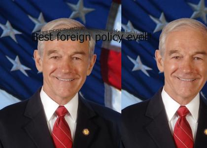 Ron Paul changes his mind about the Bush foreign policy