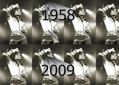 Michael Jackson (08/29/58 - 06/25/09)