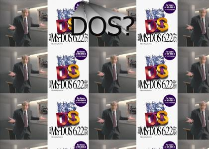 DOS? The Disk Operating System?!