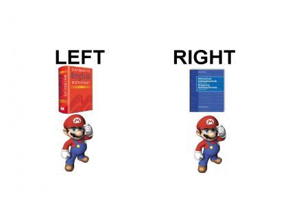 German Mario VS English Mario?