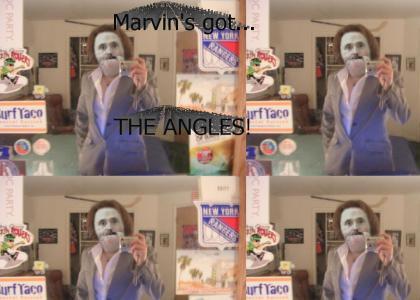 Marvin hits Myspace!