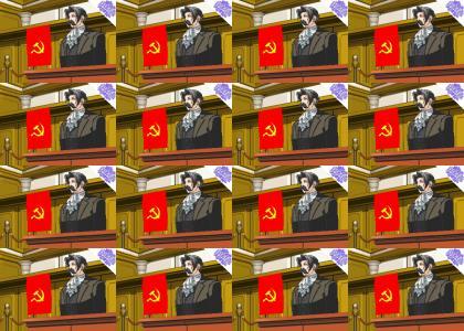 PTKFGS: OMG Secret Communist Edgeworth (Phoenix Wright)